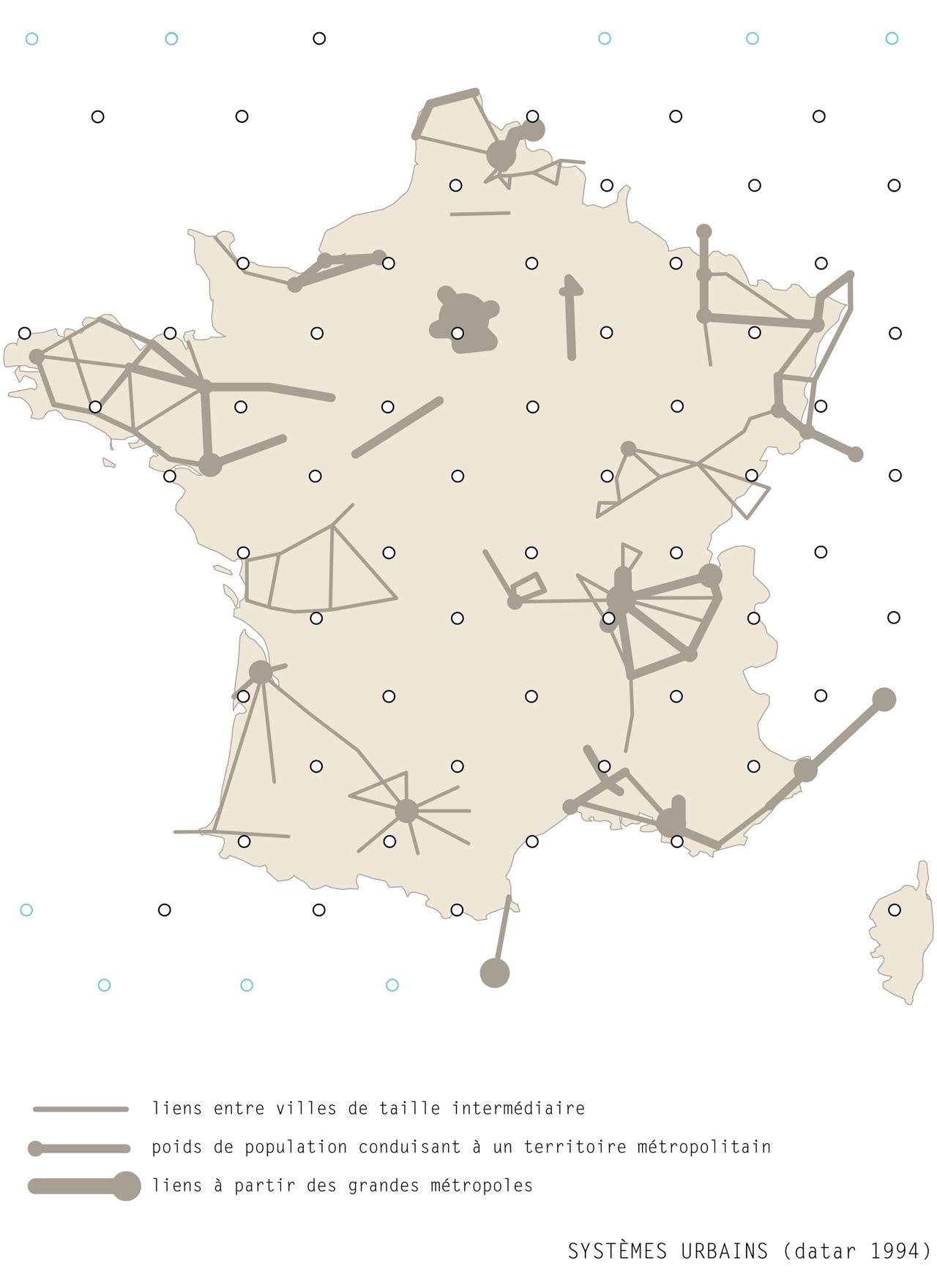 carte systèmes urbains Alain Bublex Stream 03  PCA-Stream