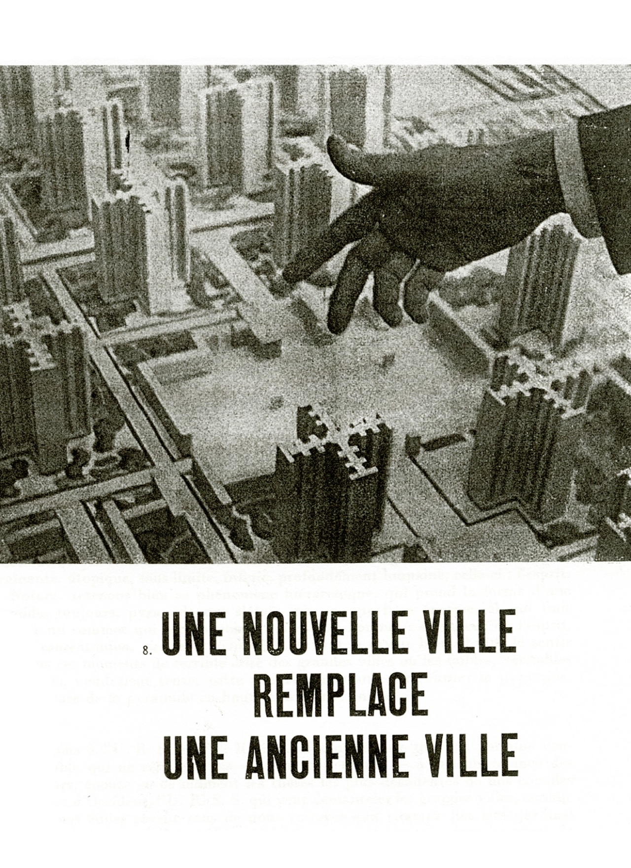 nouvelle ville Le Corbusier  Christian de Portzamparc Stream 03  PCA-Stream