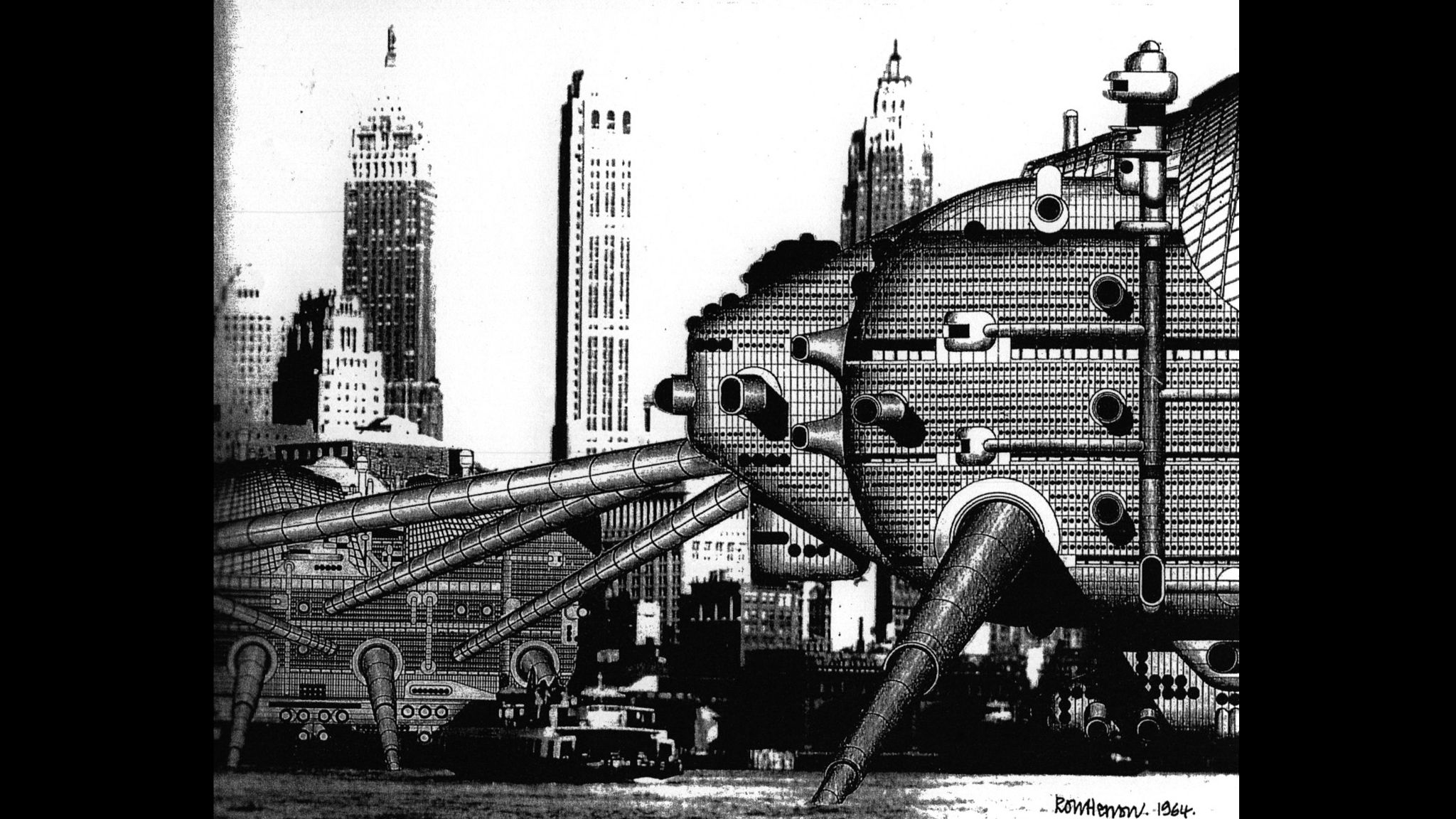 Walking City Archigram Frank Duffy Stream 02 PCA-STREAM