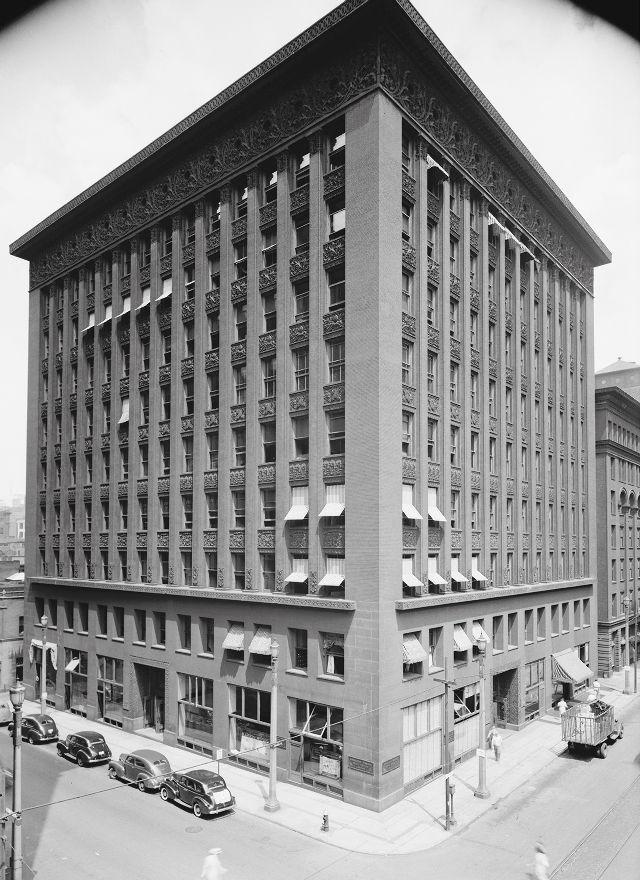 Wainwright building, St Louis, Missouri, 1891