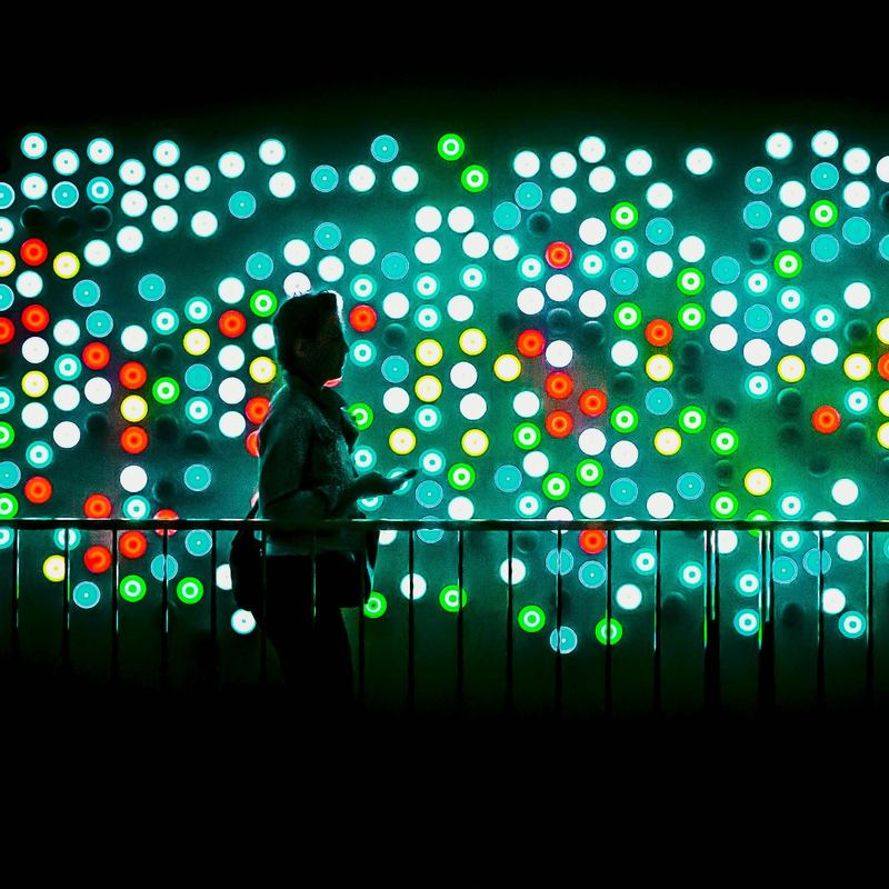 Interactive LED wall  Carlo Ratti Stream 03  PCA-Stream