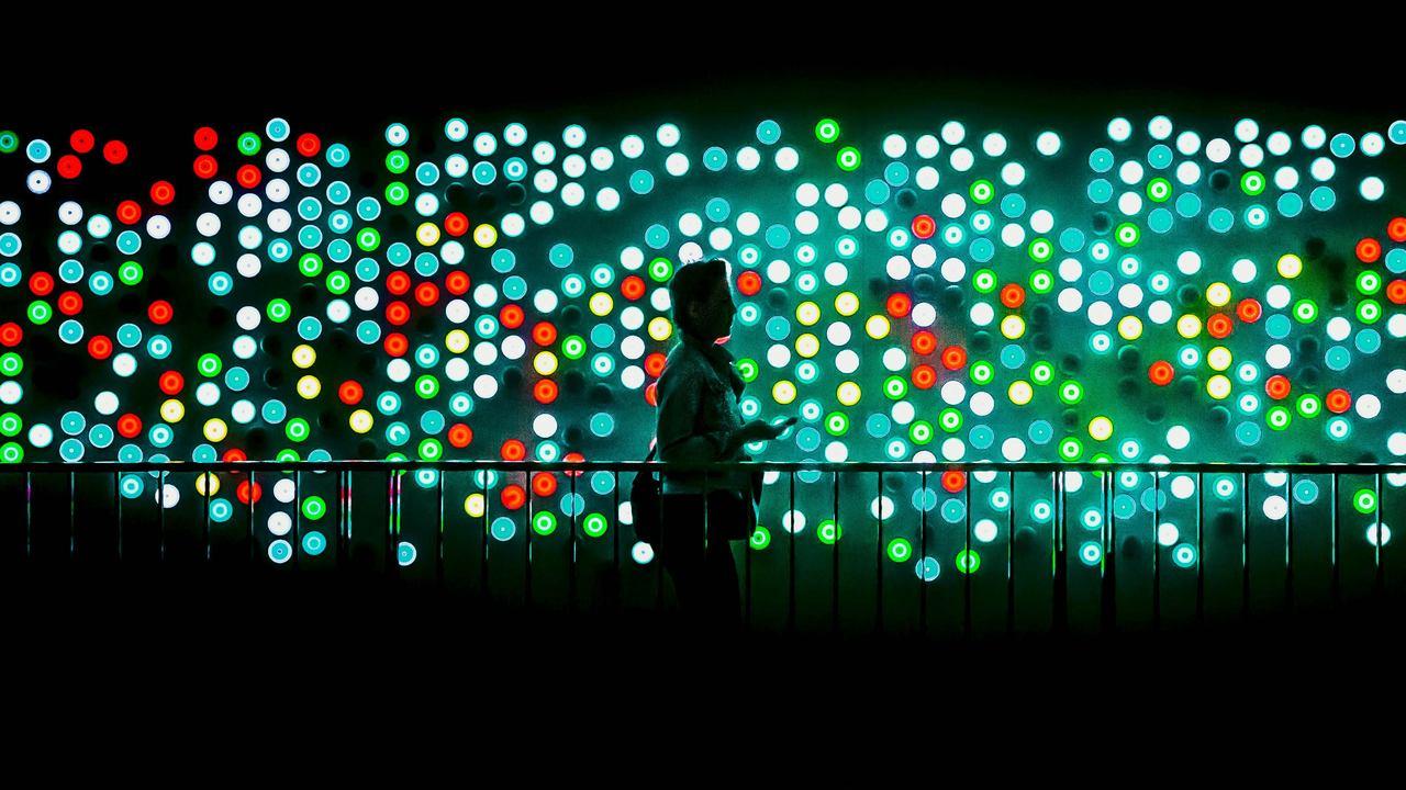 Mur de LED interactif Carlo Ratti Stream 03  PCA-Stream