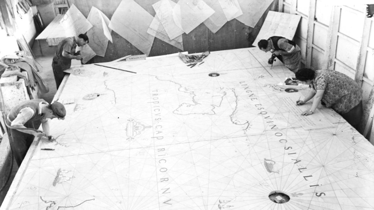 Cartographes au travail Nicolas Bourriaud Stream 01 PCA-STREAM