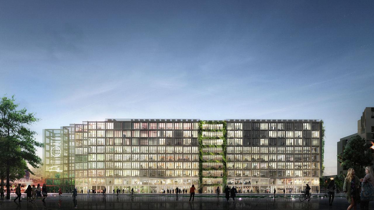 stream building reinventer paris innovation bureaux porte de clichy grand paris