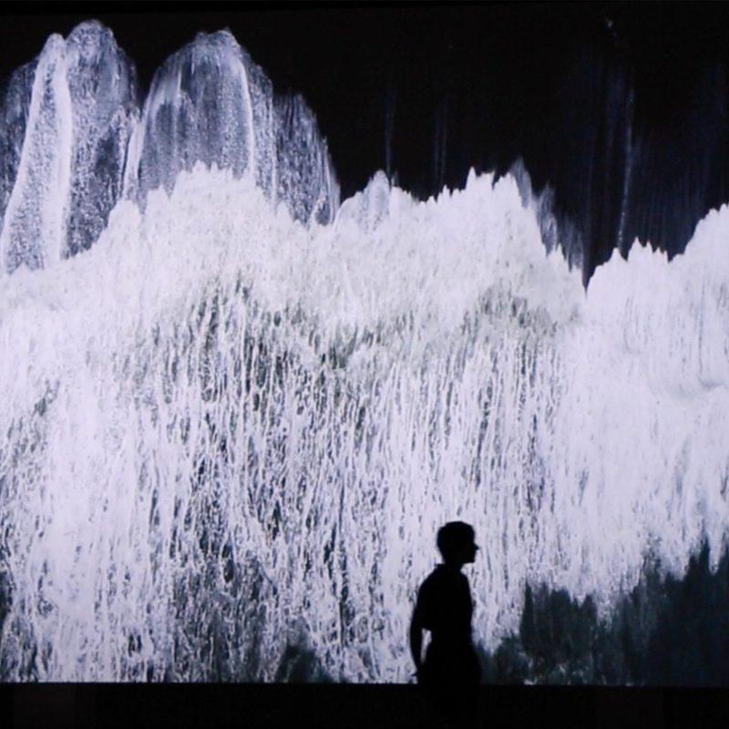 anthropocène vague mer ange leccia pca stream