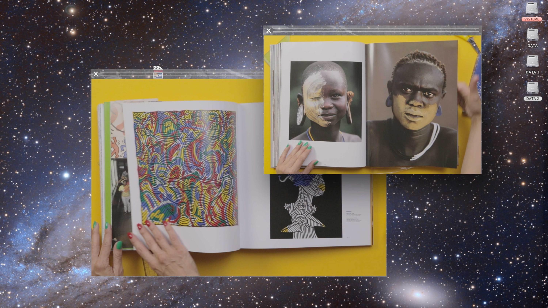africa book  Camille Henrot   Kamel Mennour   Bourriaud  Stream 03  PCA-Stream