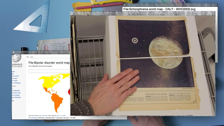 research news paper planet Camille Henrot   Kamel Mennour   Bourriaud  Stream 03  PCA-Stream