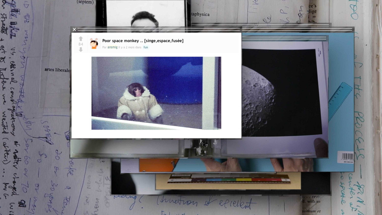 monkey meteorite  Camille Henrot  Kamel Mennour  Nicolas Bourriaud   Stream 03  PCA-Stream
