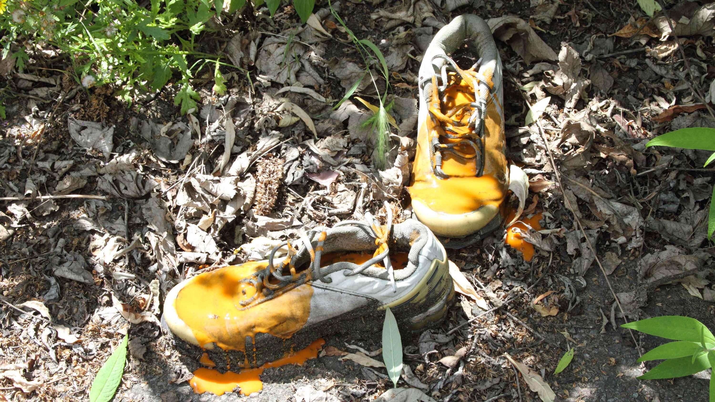 dirty shoes orange  Matheus Rocha Pitta  Bourriaud  Stream 03  PCA-Stream