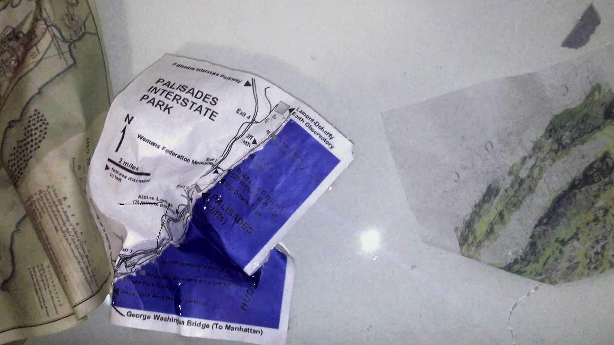 creased map Rachel Rose   Bourriaud  Stream 03  PCA-Stream