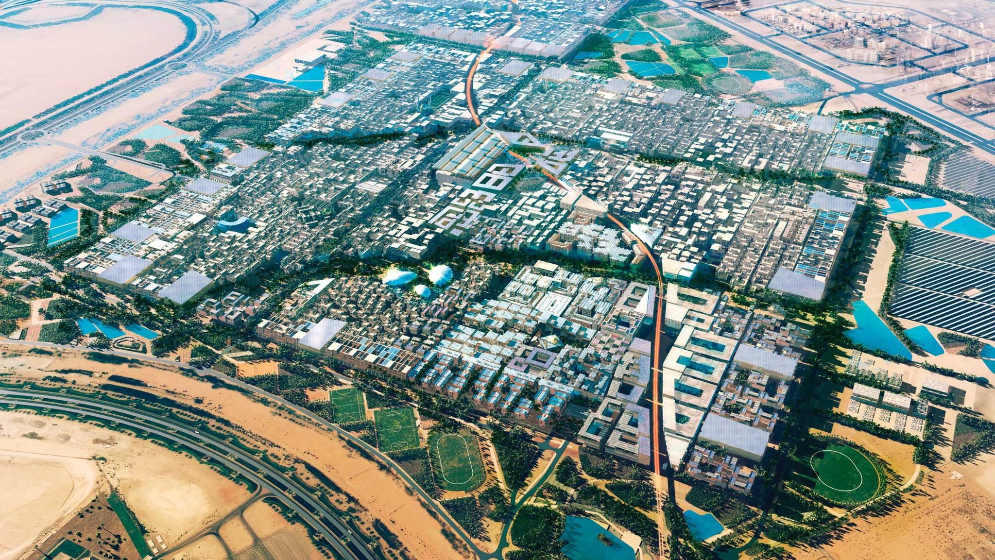projet Masdar City Julien Eymeri Stream 03  PCA-Stream