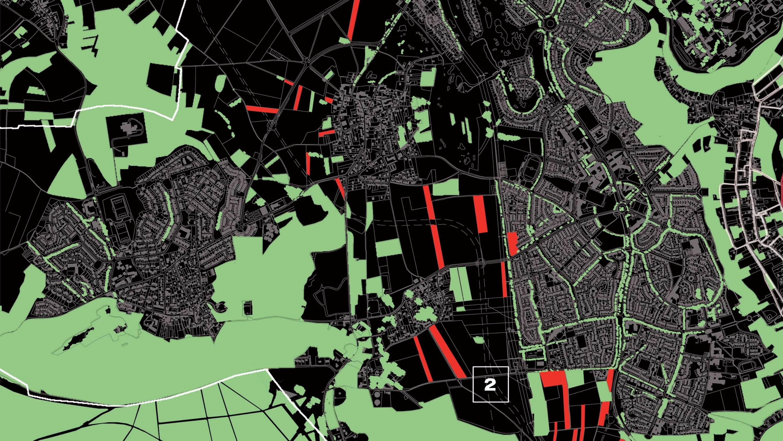 Cergy France map   Michel Desvigne Stream 03  PCA-Stream