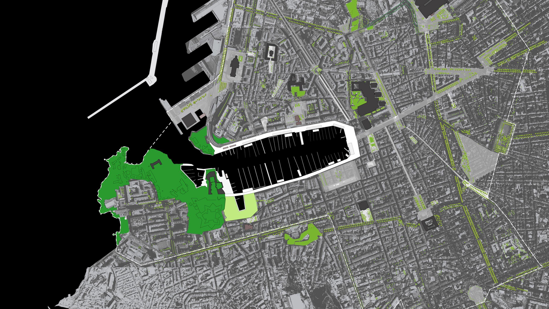 Marseille Harbor Map Michel Desvigne Stream 03  PCA-Stream