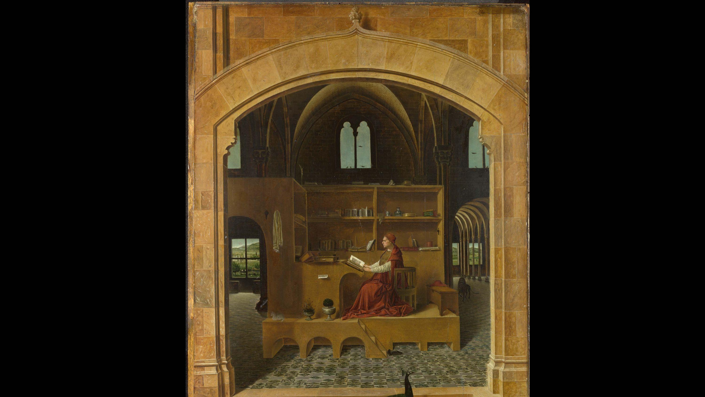 Saint Jerome in His study Antonio da Messina Clément Dirié Stream02 PCA-STREAM
