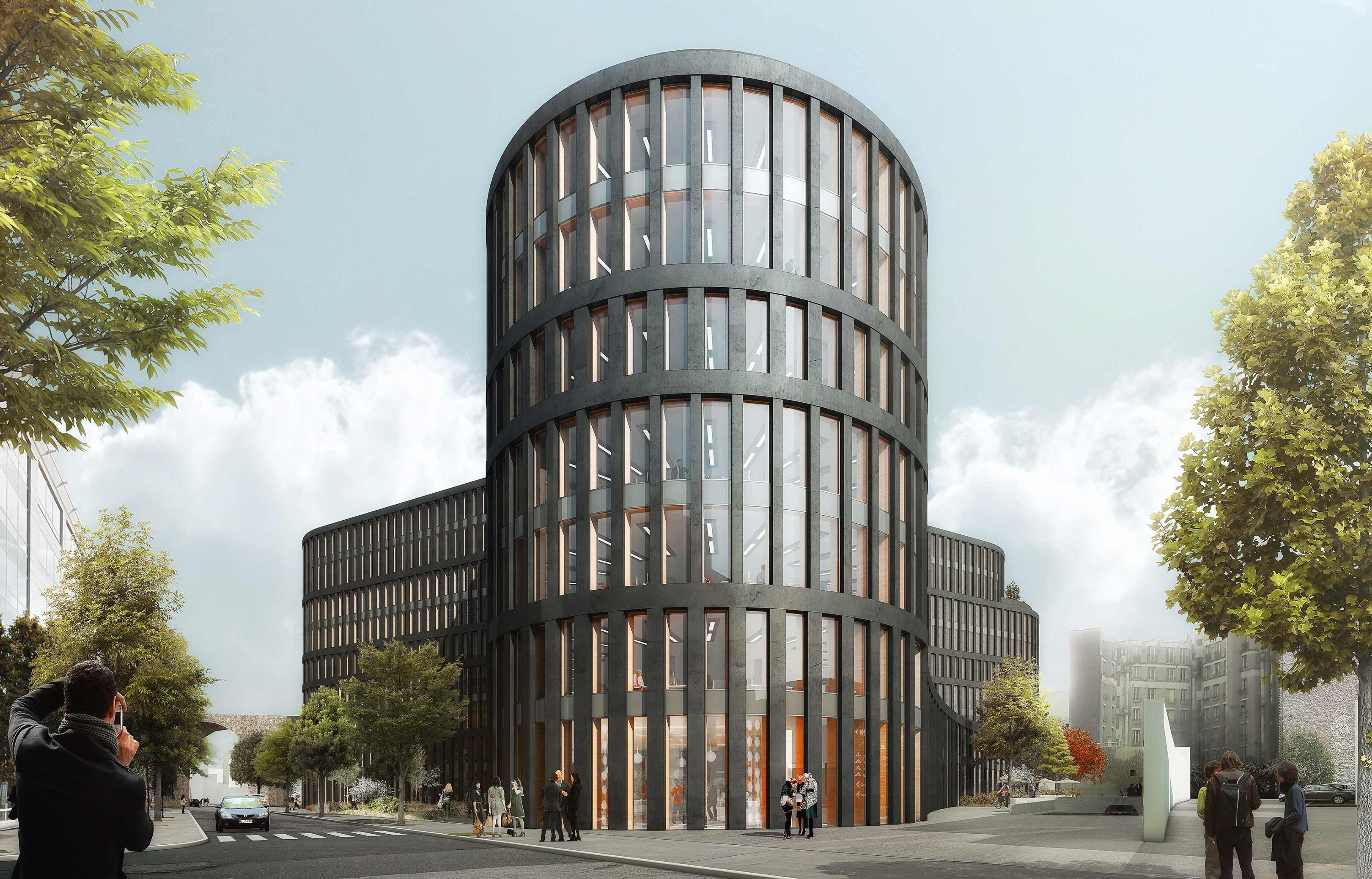 be issy tripode issy les moulineaux pca stream bureaux innovation bioclimatisme