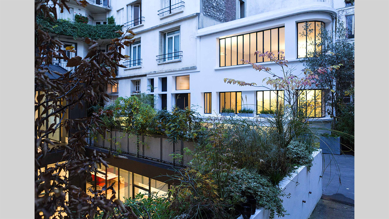 cluster PCA-STREAM bureaux marais paris écosystème créatif travail