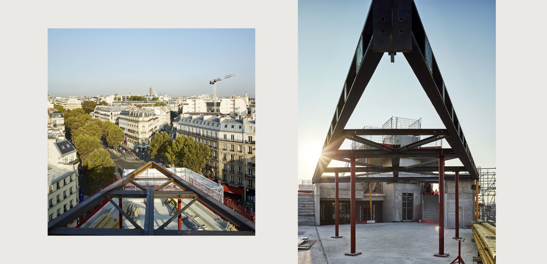 surélévation haussmann paris pca stream architecture rooftop verrière